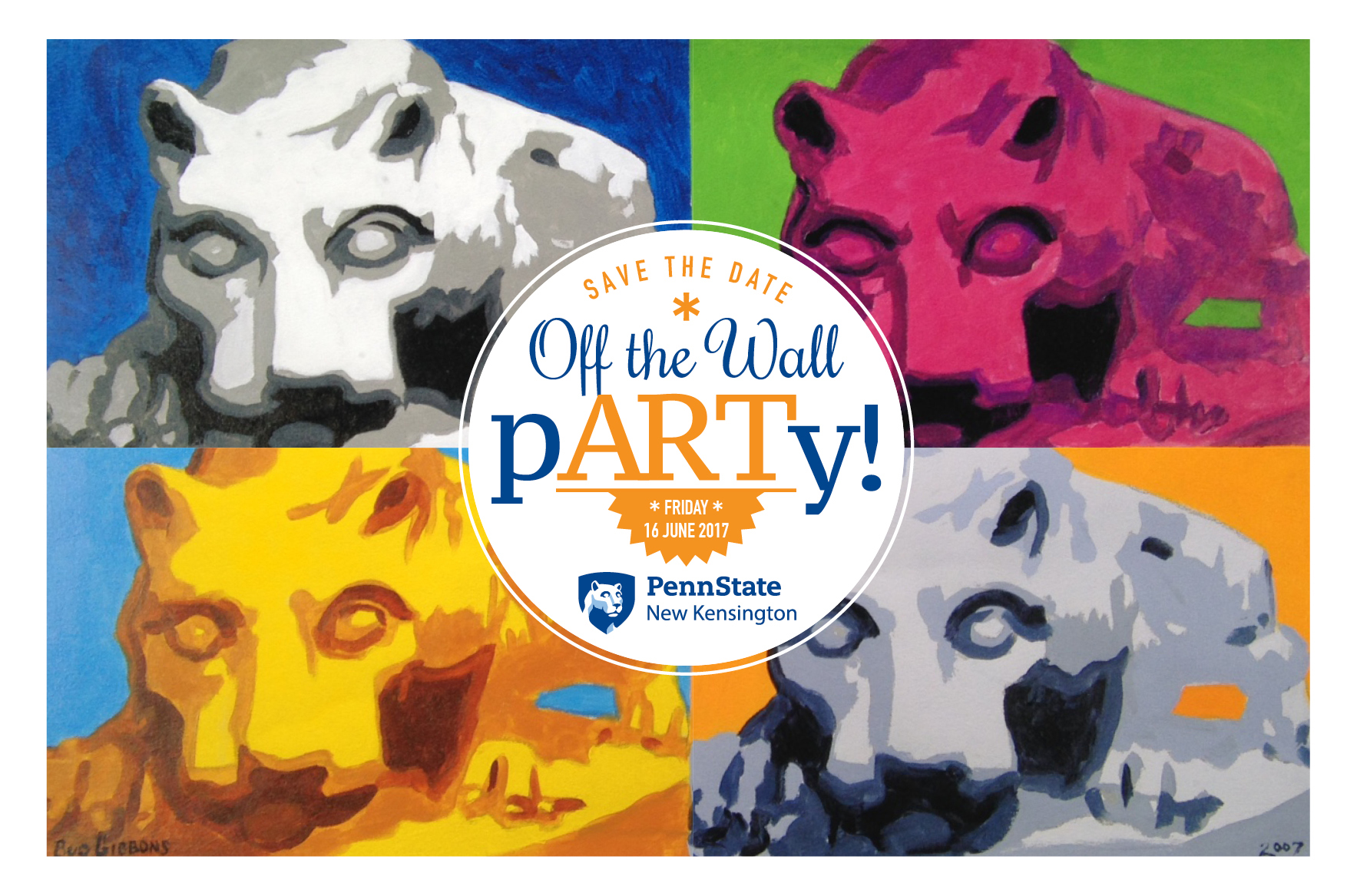 Off the Wall pARTy logo