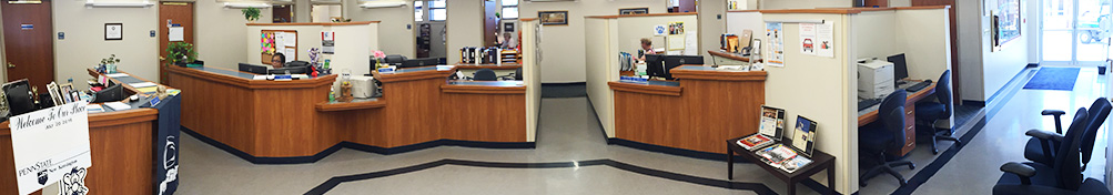 A panoramic photo of Enrollment Services