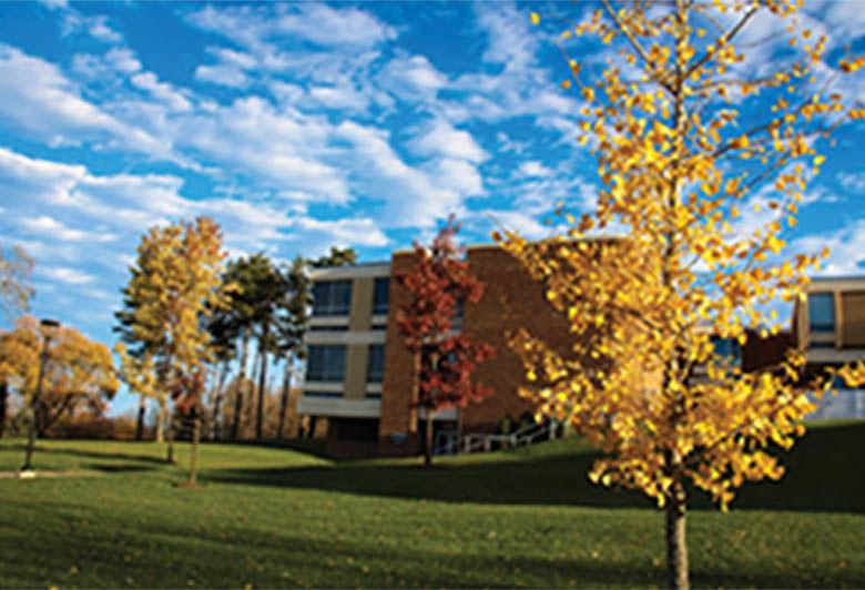 campus during autumn