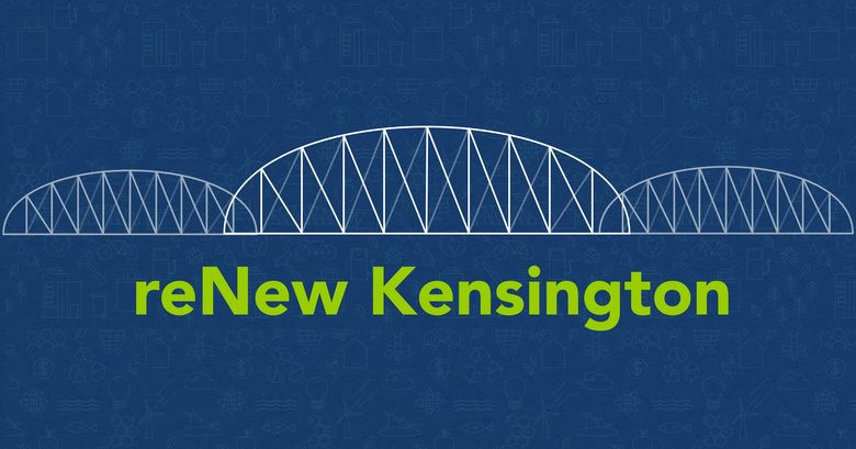 reNew Kensington with bridge illustration