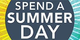 Spend a Summer Day Logo