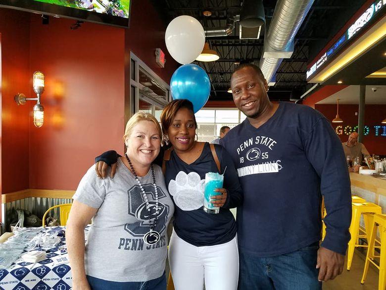 Penn State Alumni enjoy Blue and White Nights