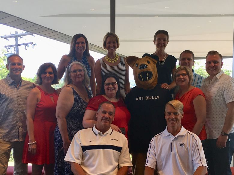 Penn State Alumni gather for group photo
