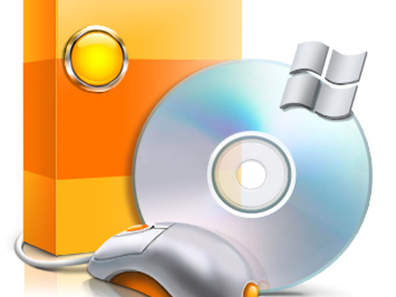 A software box and CD