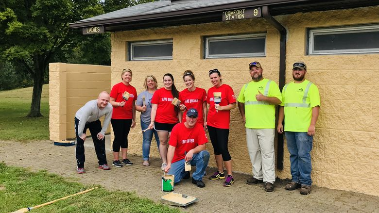 Penn State New Kensington Day of Caring 2018