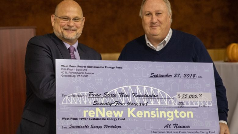 reNew Kensington WPPSEF Check Presentation