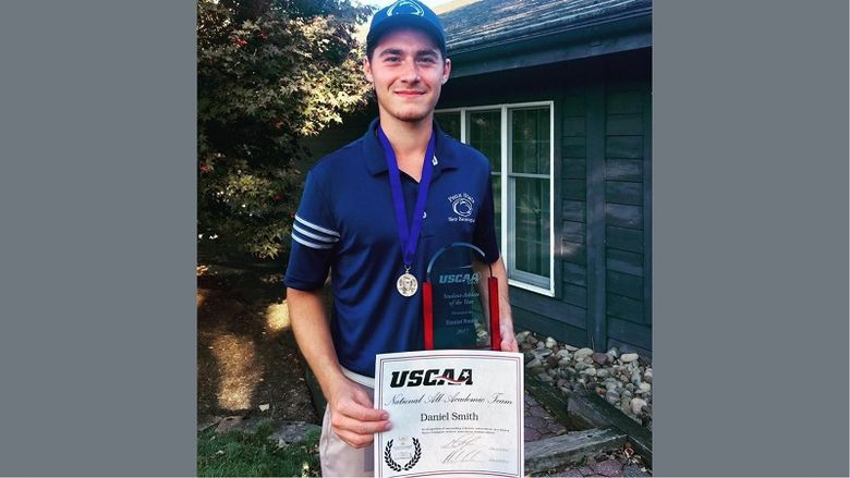 Penn State New Kensington Golfer Dan Smith