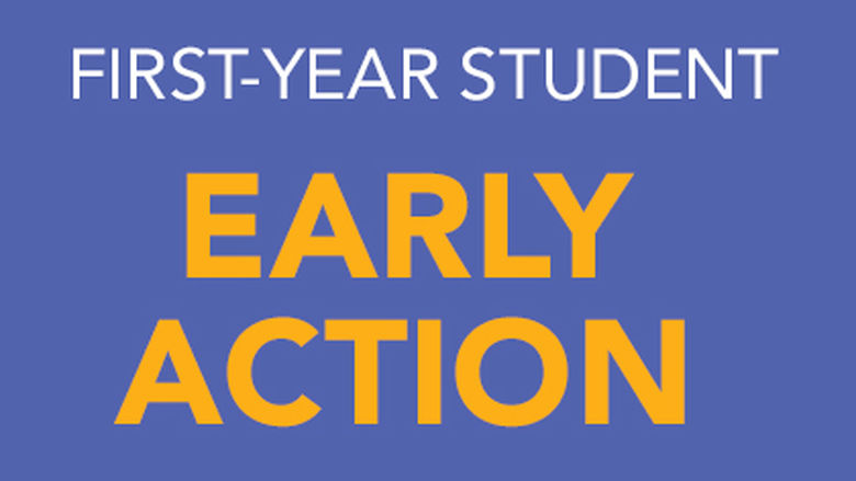 first-year student early action