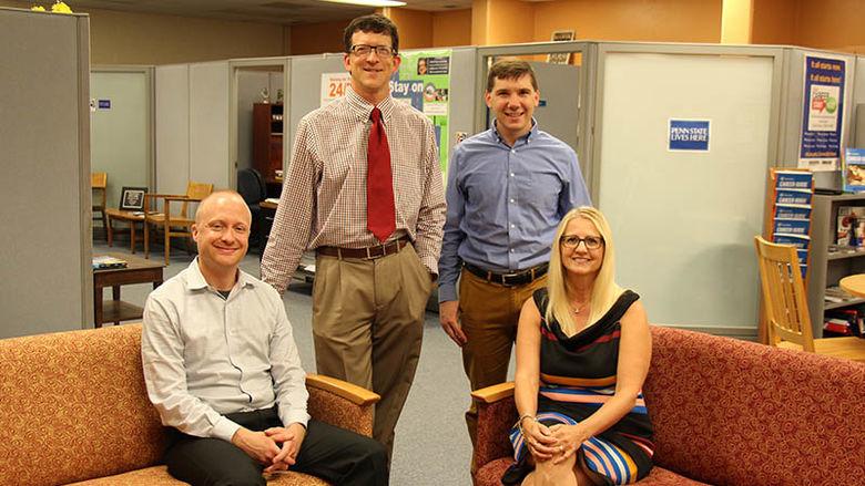 four Success Center professional staff members