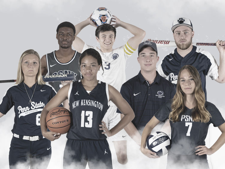 Collage of men's and women's student-athletes